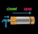 Axial Shock & Acceleration Sensor SignalQuest SQASA
