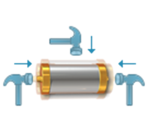 Omnidirectional Shock & Acceleration Sensor SignalQuest SQASD