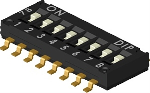 Picture of DIP Switch DIP DHN Series