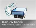 LED防水轻触开关 WB TC012W系列