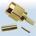 Picture of SMA Reverse Polarity Crimp Plugs  ,Gigatronix MA15D316C01R